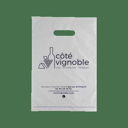 sac plastique caviste personnalisé