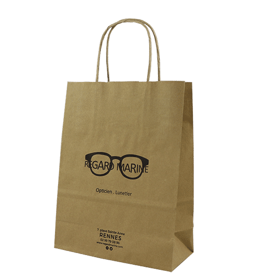 Sac kraft opticien