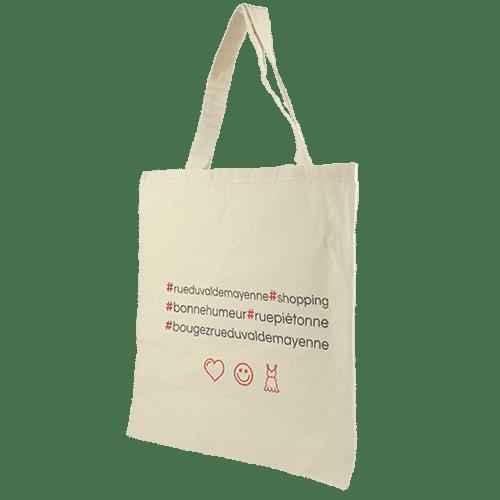 Tote bag publicitaire pour boutique à personnaliser