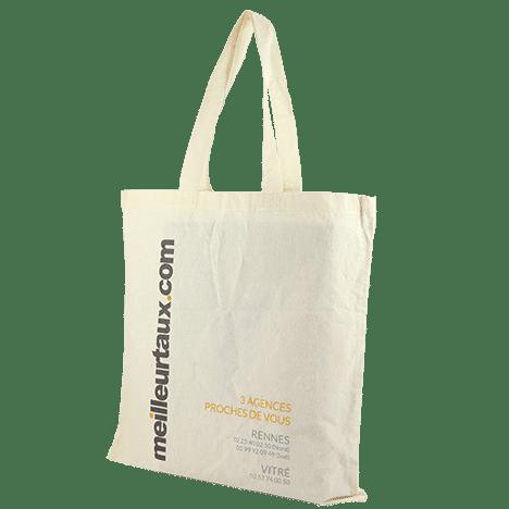 Tote bag en coton personnalisé pour entreprise