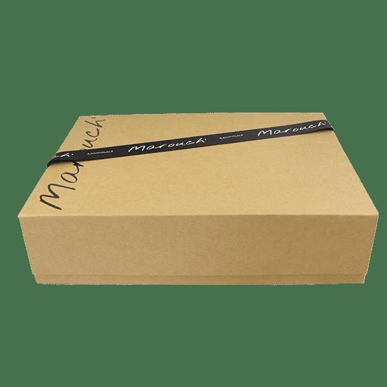 boite avec ruban personnalisé