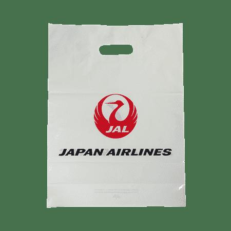 sac luxe publicitaire avec poignées découpées et impression personnalisée