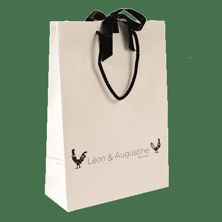 Sac Personnalisé Petite Quantité Papier Kraft Plastique Tissu Créa Pack