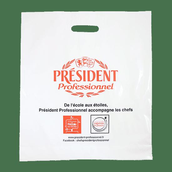Sac plastique alimentaire publicitaire personnalisé