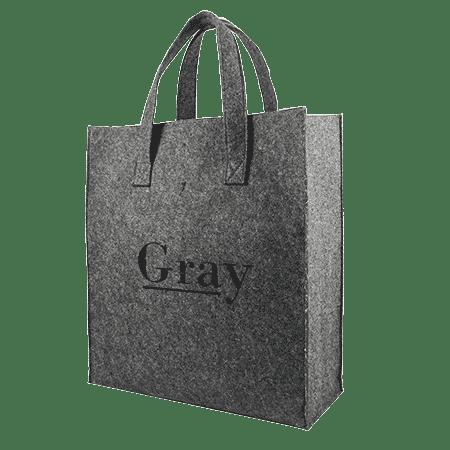 sac feutrine personnalisé popur boutique