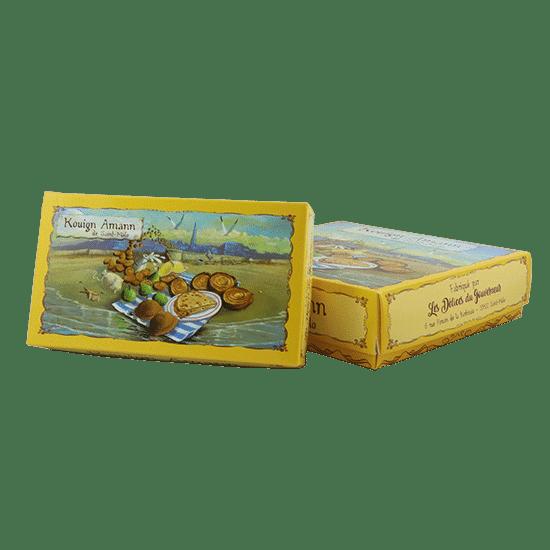 Boîte biscuits personnalisé