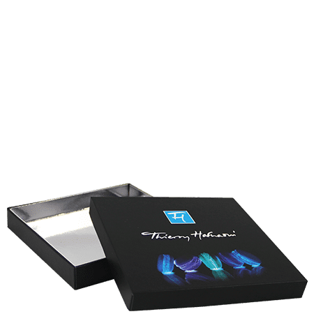 Boîte publicitaire chocolatier personnalisé