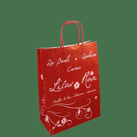 Impression personnalisé sac papier