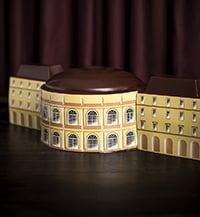 Bûche en forme d'Opéra - chocolatier