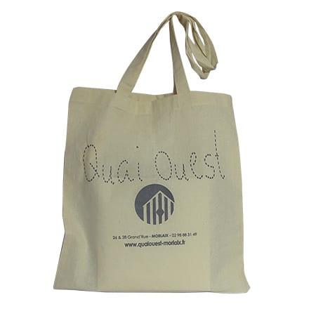 Tote bag en coton personnalisable pour boutique magasin