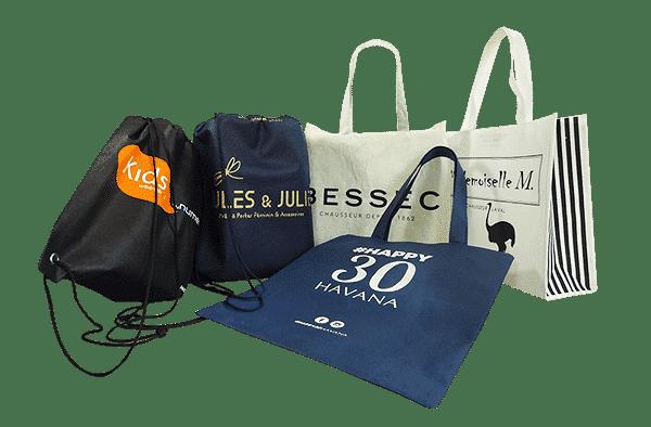 sacs en tissu personnalisables