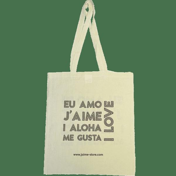 Sac coton personnalisable pour boutique
