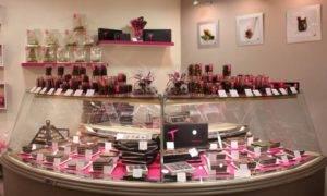 vitrine chocolaterie
