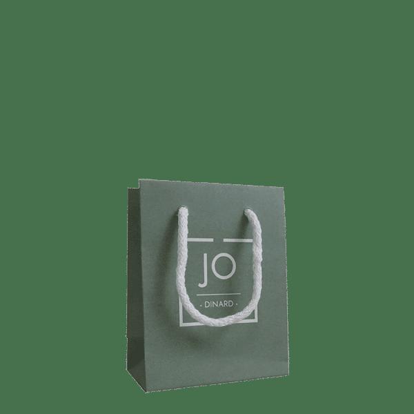 Impression personnalisé sur sac bijoux
