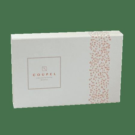 Boîte chocolatier personnalisé publicitaire