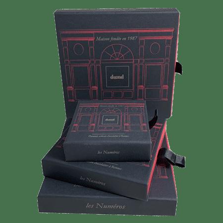 Assortiment de boîte chocolatier publicitaire