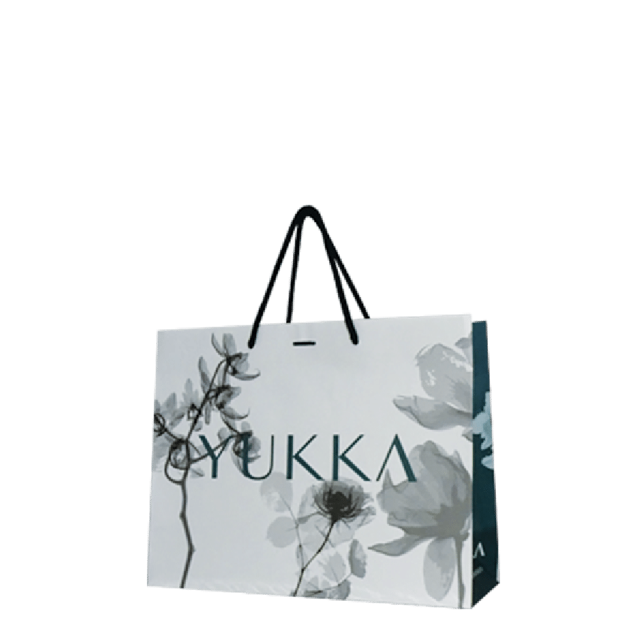 Sac luxe en papier personnalisé pour boutique de vêtements