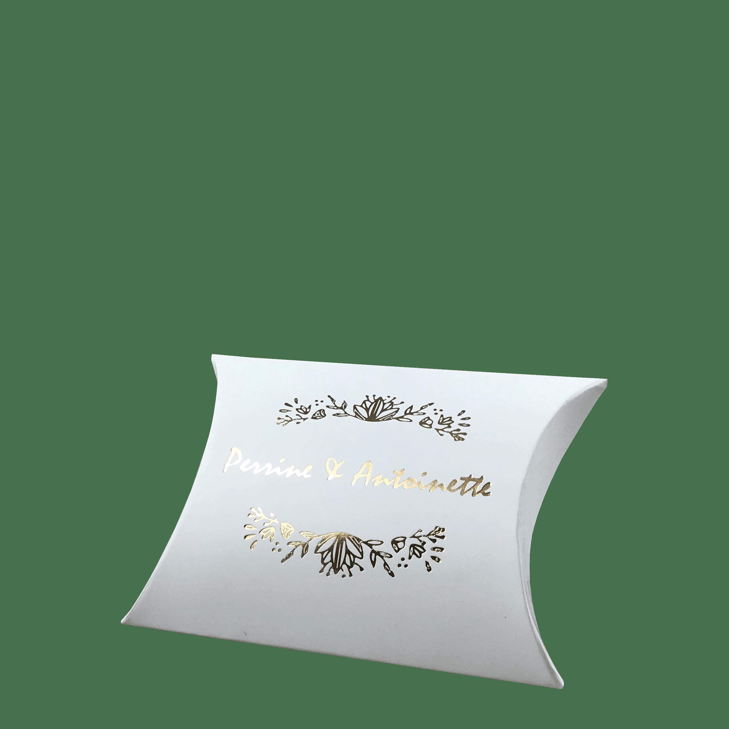 Boite berlingot personnalisable pour bijoux