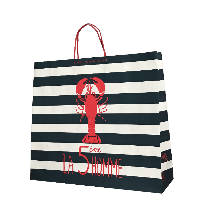 emballage sac papier personnalisé