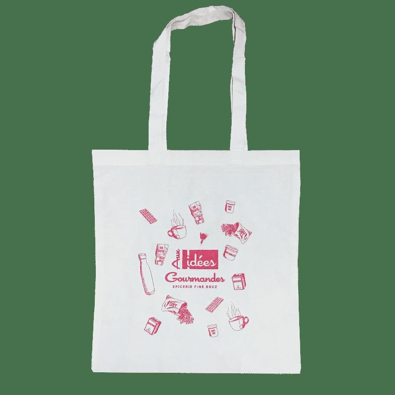 Tote bag personnalisé épicerie fine