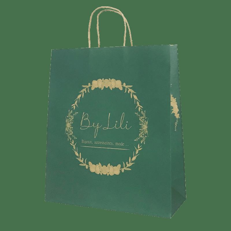 Impression sur sac kraft brun personnalisé