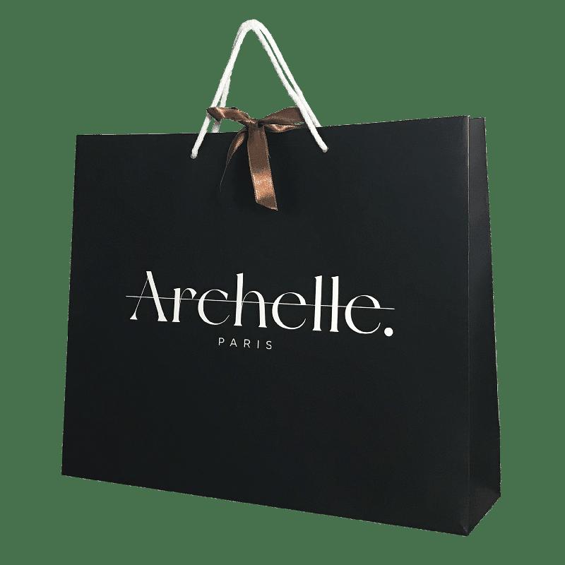 Sac luxe magasin de vêtements personnalisé