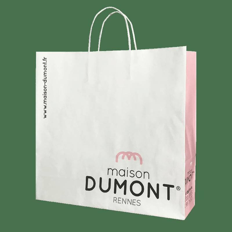sac papier personnalisé restauration