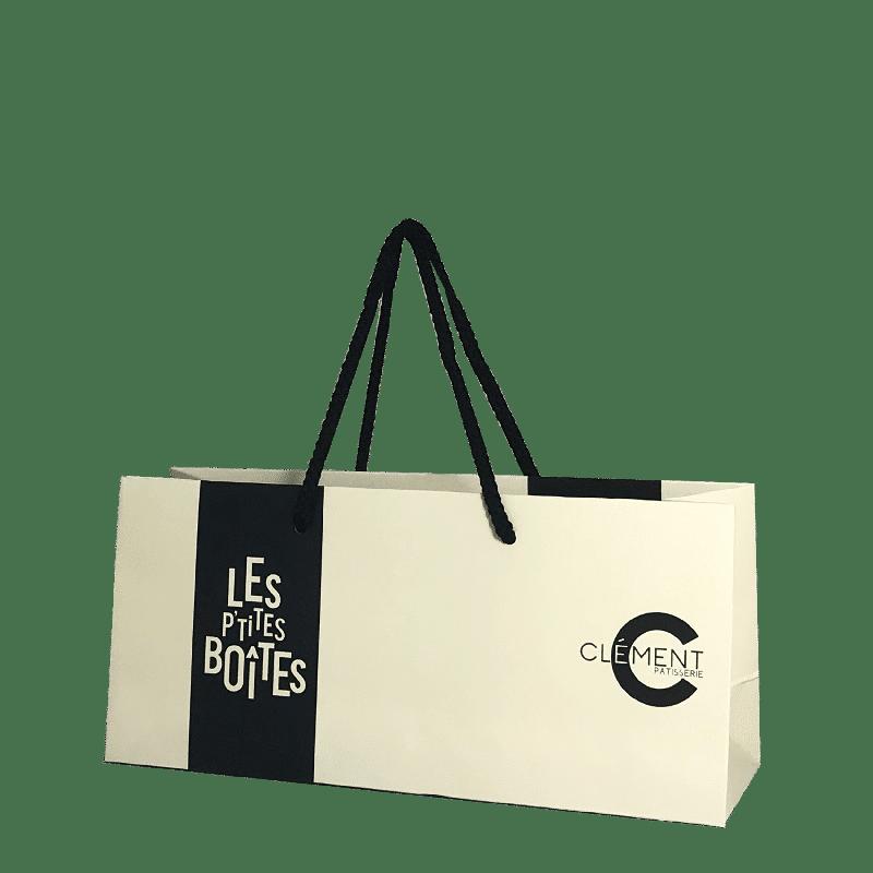 sac petit format pour boite chocolats personnalisé