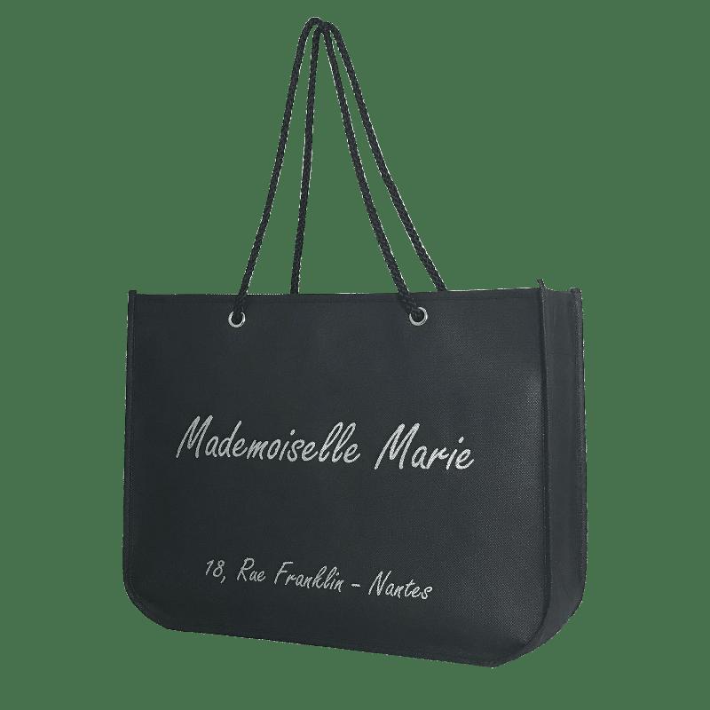 sac shopping réutilisable pour magasin de vêtements