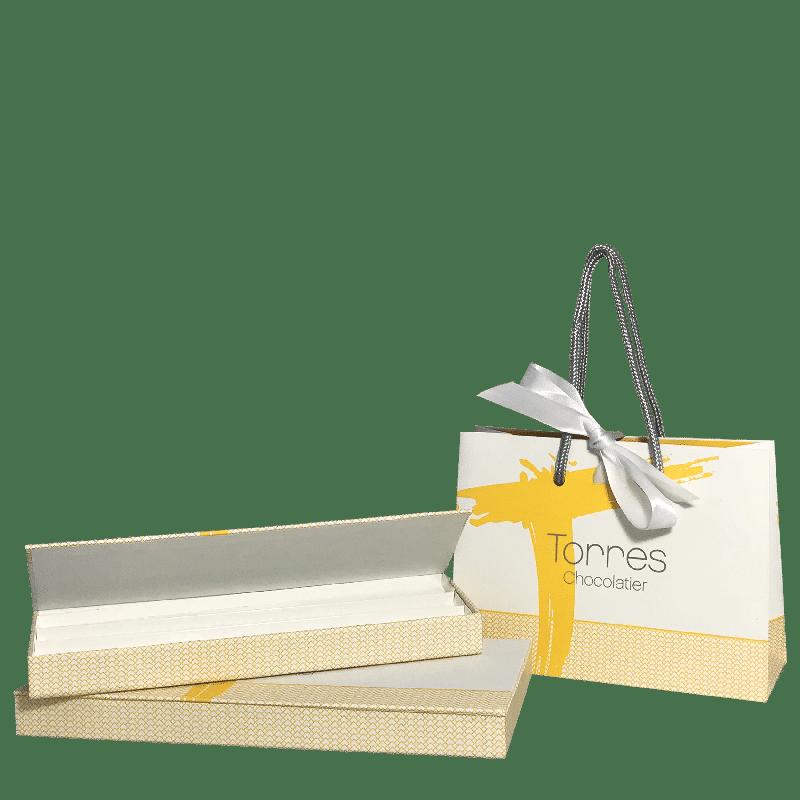 Sac et boîte personnalisé pour chocolatier